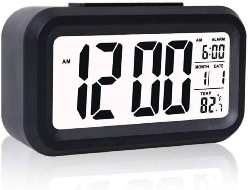 Retail Paratpar Digital Black Clock