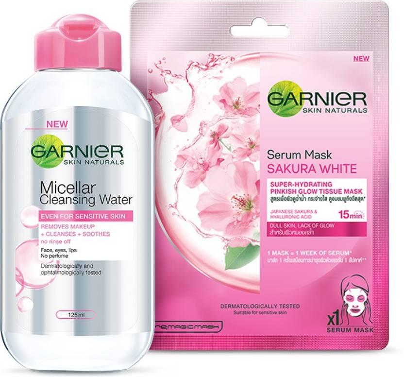 Garnier Skin Naturals Sakura White Sheet Mask