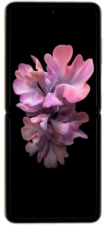 Samsung Galaxy Z Flip (Gold, 8GB RAM, 256GB Storage)